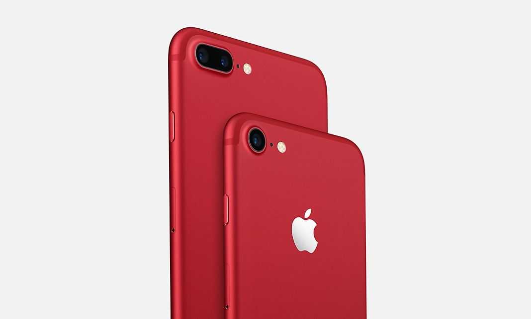 Iphone 7 Product Red Special Edition Kaufen Apple De Iphone Neue Iphone Iphone Plus
