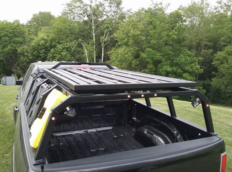 Custom Tech Ii Expedition Bed Rack With Removable Cross Bars