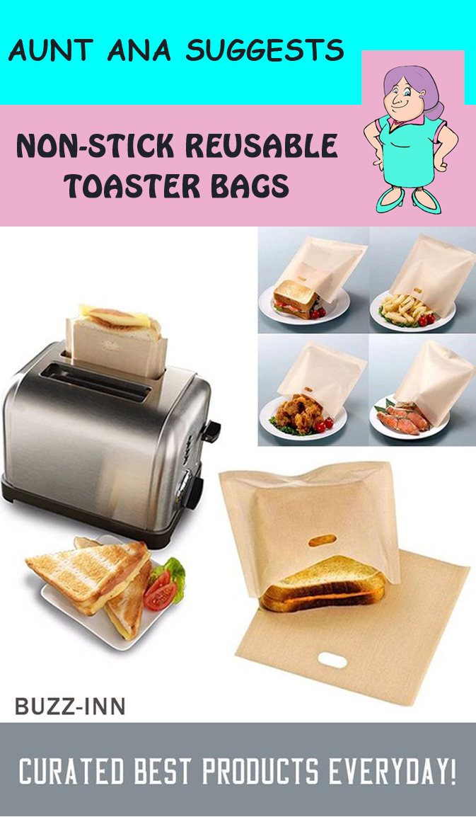 Non Stick Reusable Toaster Bags In 2020 Kitchen Gadgets Unique