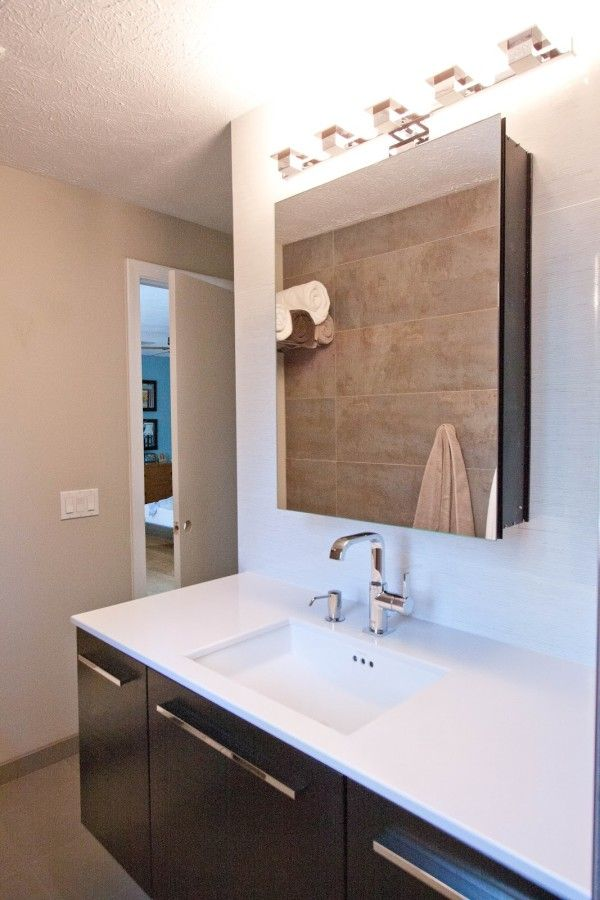 Furniture wondrous bathroom lights over medicine cabinets using polished nickel wall sconce with frameless square mirror