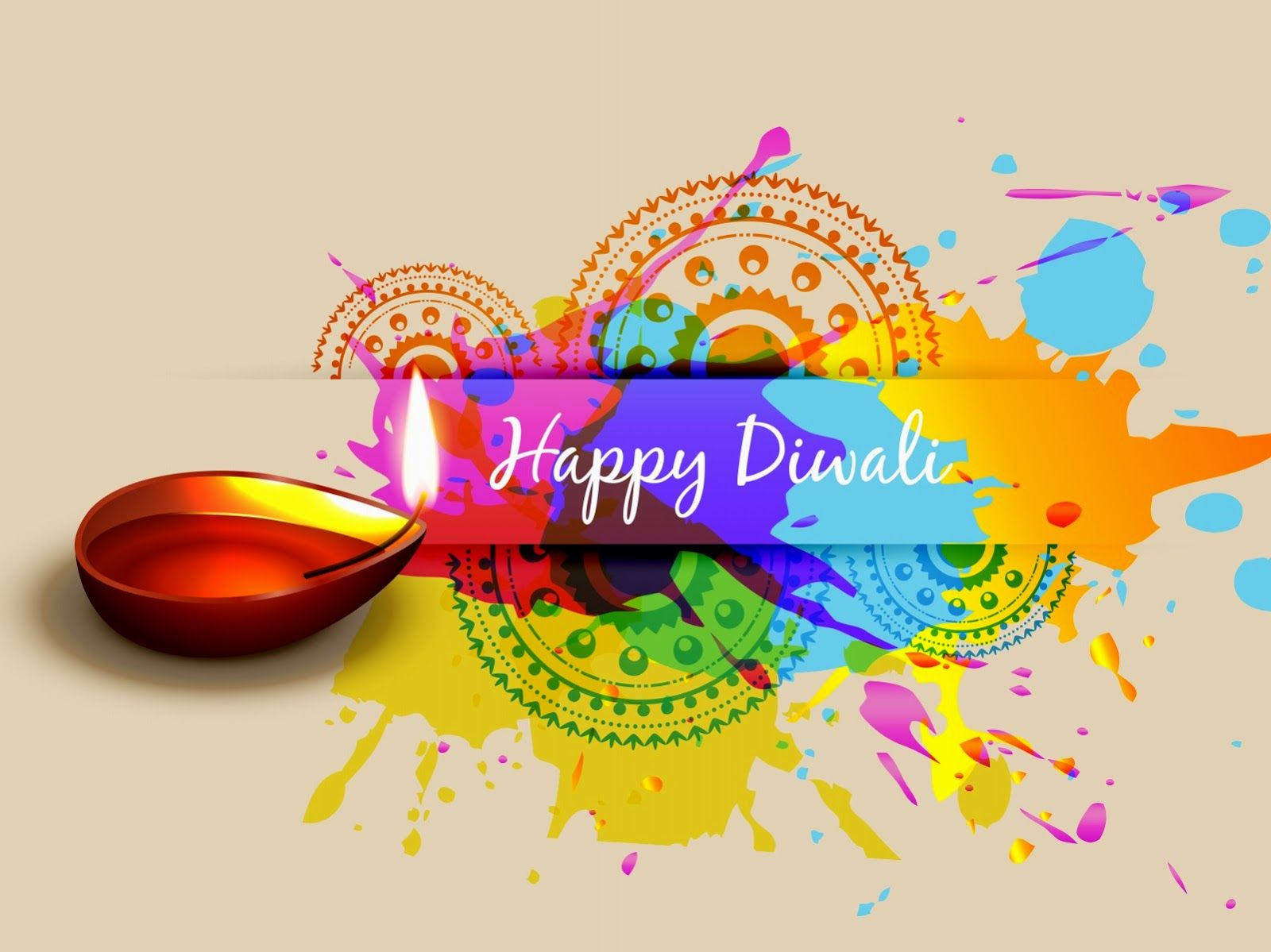 Happy Diwali Greeting Cardg 16001199 Misc Mostly Indian