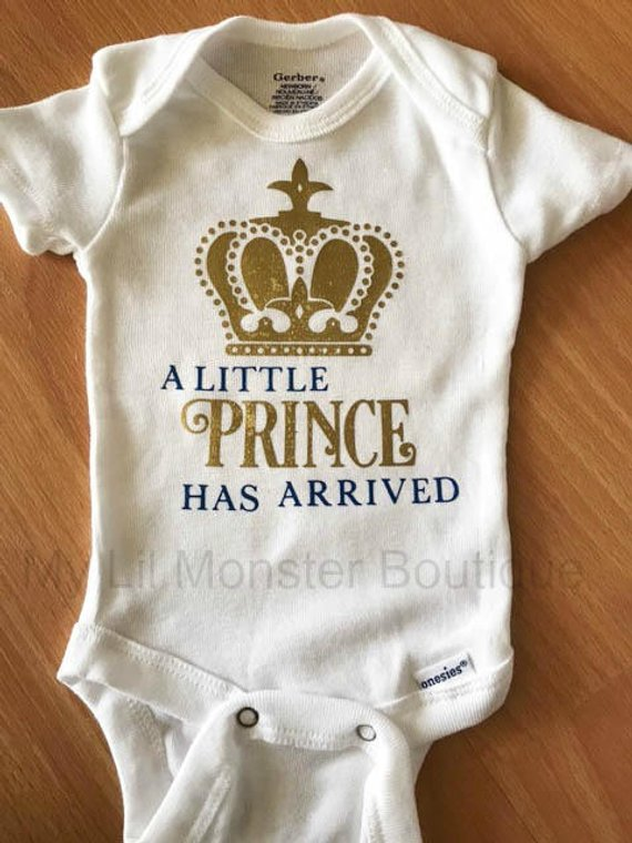 a0ca5a524 Boy Monthly Onesie set/ Milestone onesie set/ baby boy/ blue and gold/  Little Prince/ Prince/ Monthl