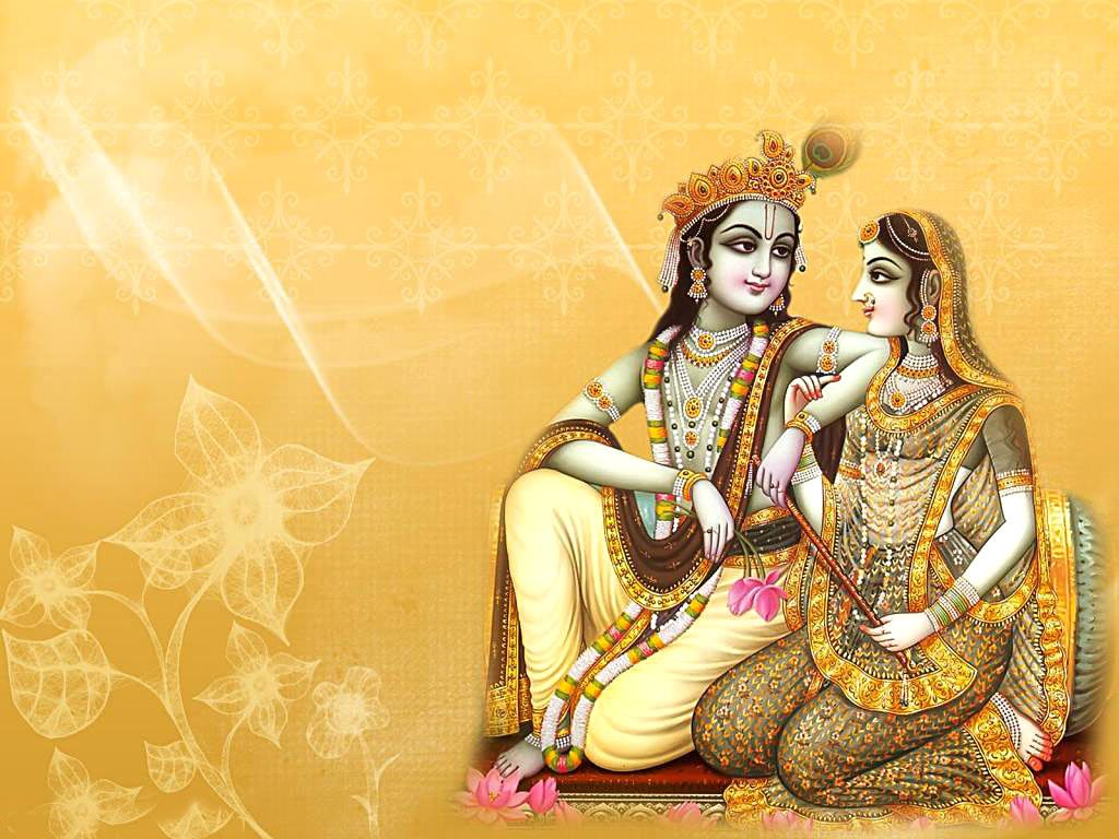 Indian painting: Hindu god Lord Krishna | Anchorage called Art ...