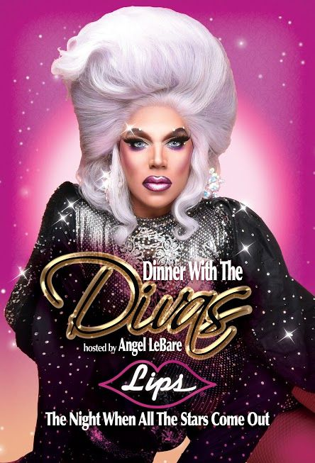 Chicago's ULTIMATE Diva - Miss Angel LeBare - TONITE at LIPS!   Dinner With The Divas!   Dinner, Drinks and A Fabulous Show!  Call for reservations 312-815-2662  #lipschicago #mccormickplace #bacheloretteparty #birthday #chicagoloop #dragshow #dragqueen #rupaul