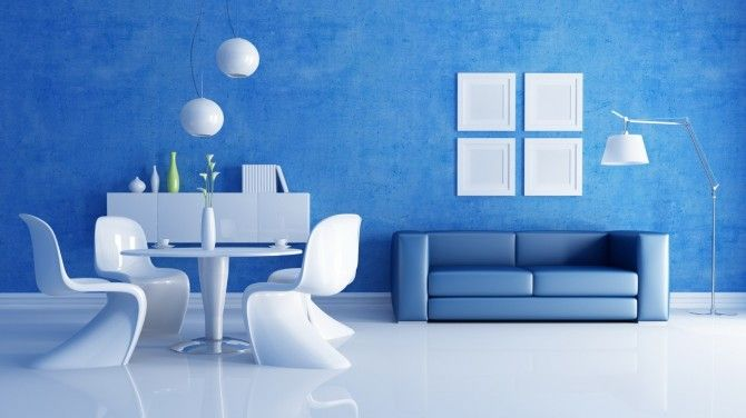 40 Friendly and Fresh Blue Interior Design