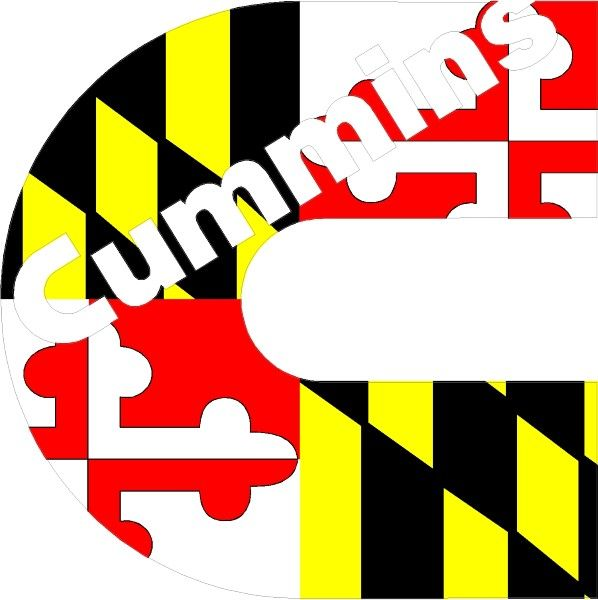 Free Cummins Stickers | images of logo decals maryland flag ...