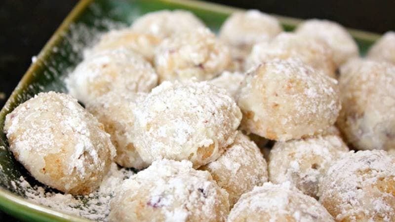 Browned butter pecan balls cookies recipes christmas