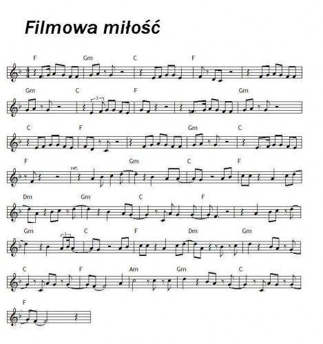 Muzyka Filmowa Nuty Szukaj W Google Flet Pinterest Music I