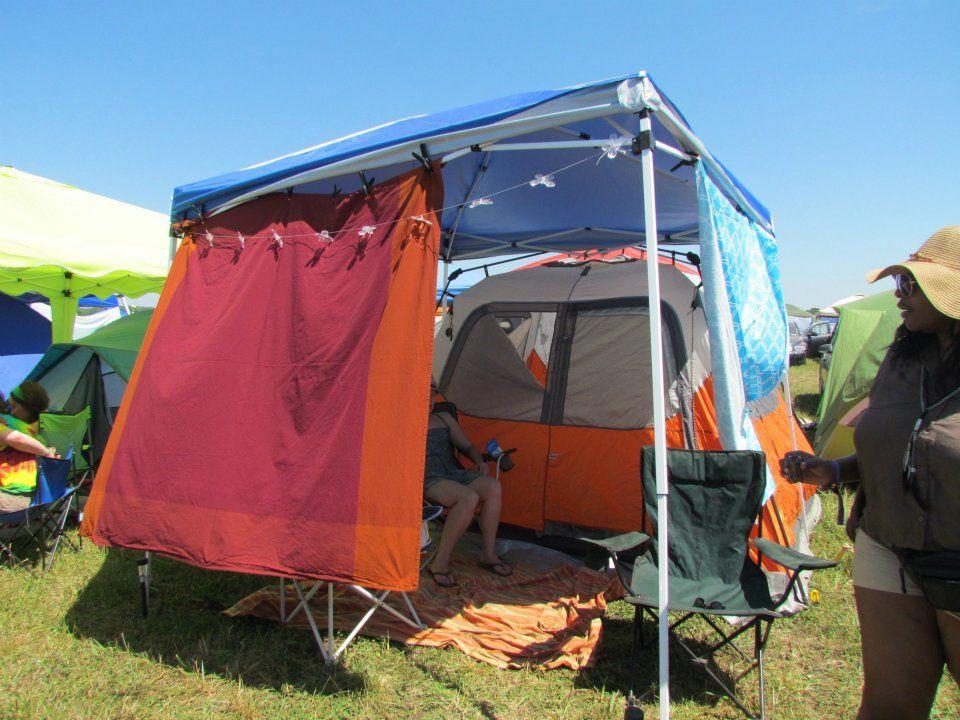 Show us your campsite Bonnaroo 2015