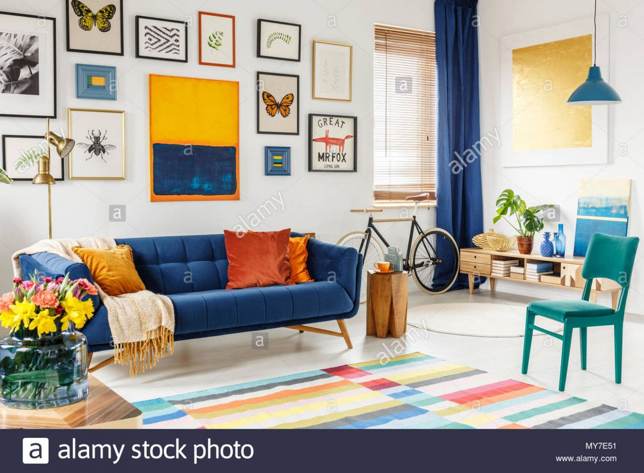 Blue Sofa Yellow Chair A Avant Garde Chicken Daybed Is A Adventurous Architecture Statement Top 10 Design Finds Living Room Interior Room Interior Living Room