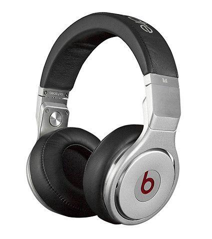 Pro Over Ear Headphones Silver Beats By Dre Beats Headphones Headphones Black Headphones