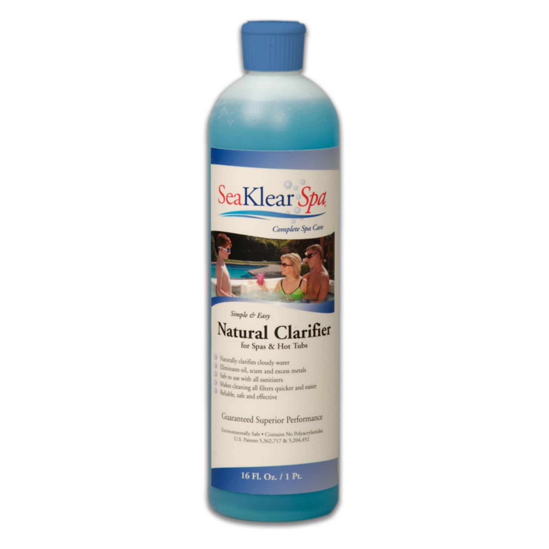 Sea Klear Natural Spa Clarifier 1 Pt Sksbp Products Pool