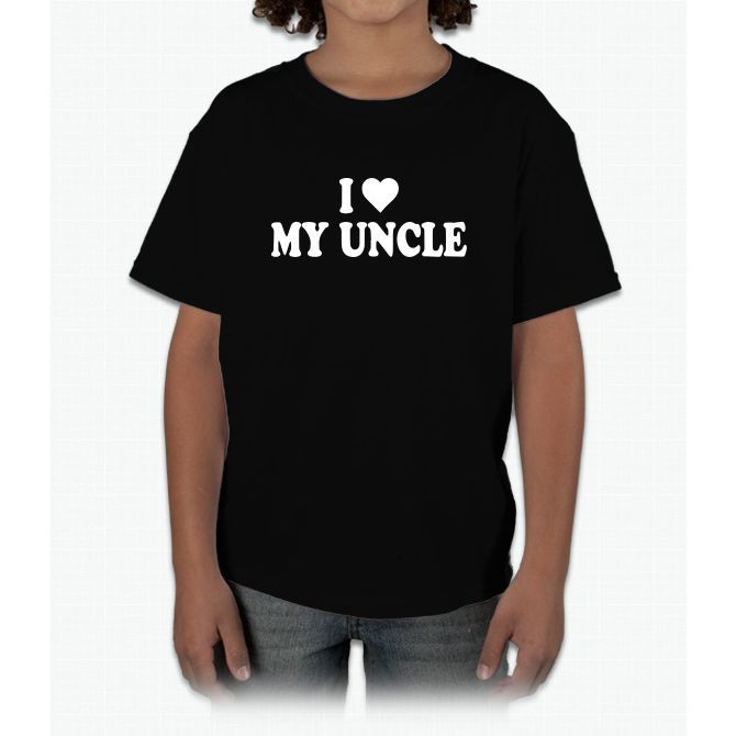 I Heart My Uncle Young T-Shirt