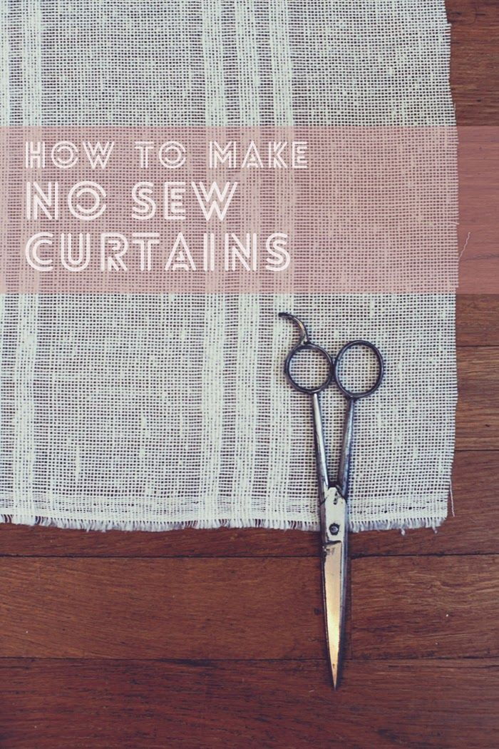 Curtains Without Sewing