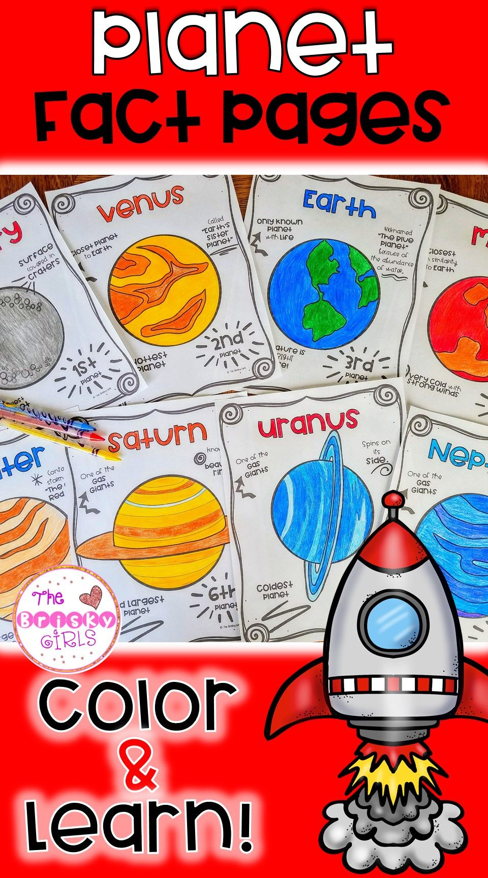 Planets teaching planets planet resources planet coloring pages planet facts solar system activities outer space activities outer space resources