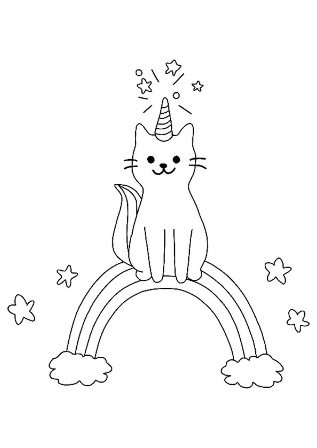 Unicorn Rainbow Coloring Page Mermaid Coloring Pages Coloring Pages Unicorn Coloring Pages