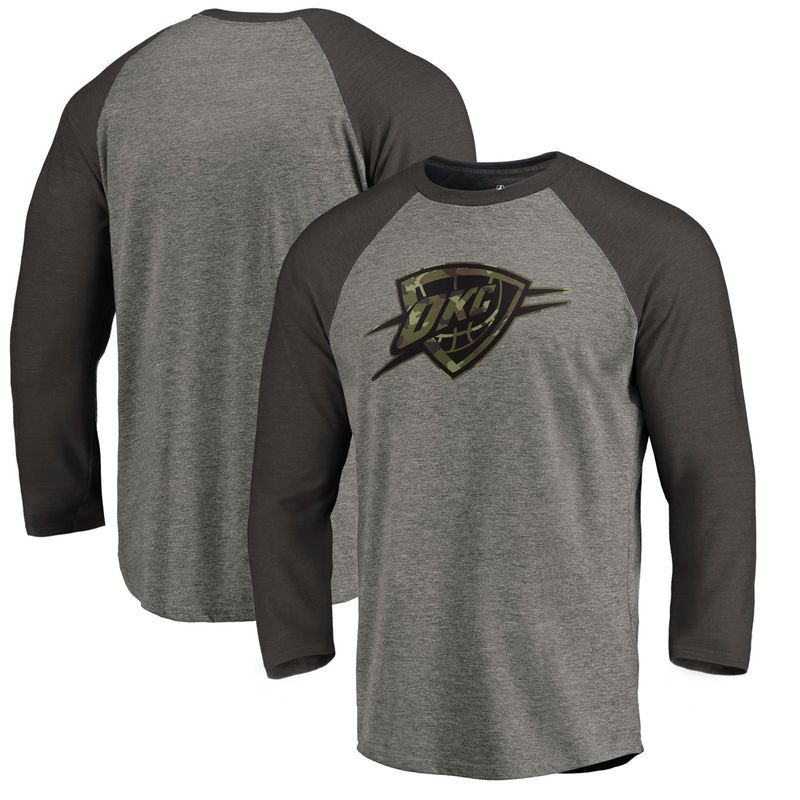 buy online 3194b 9eb53 Oklahoma City Thunder Fanatics Branded Camo Collection ...