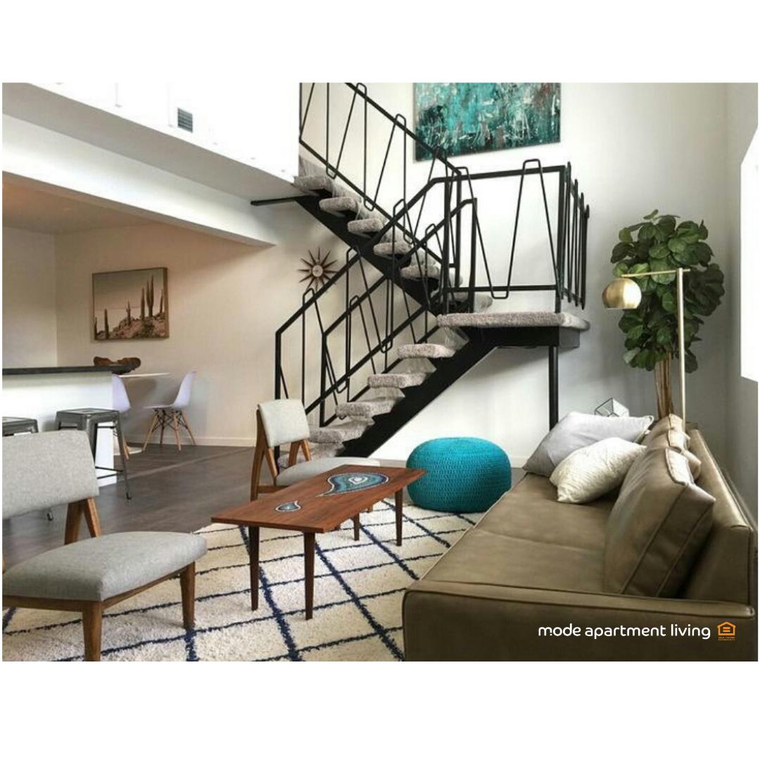 Modern Loft in Phoenix Arizona | Living room designs ...