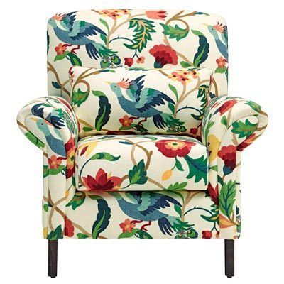 Woolen Floral Armchair Floral Armchair Beautiful Chair Accent