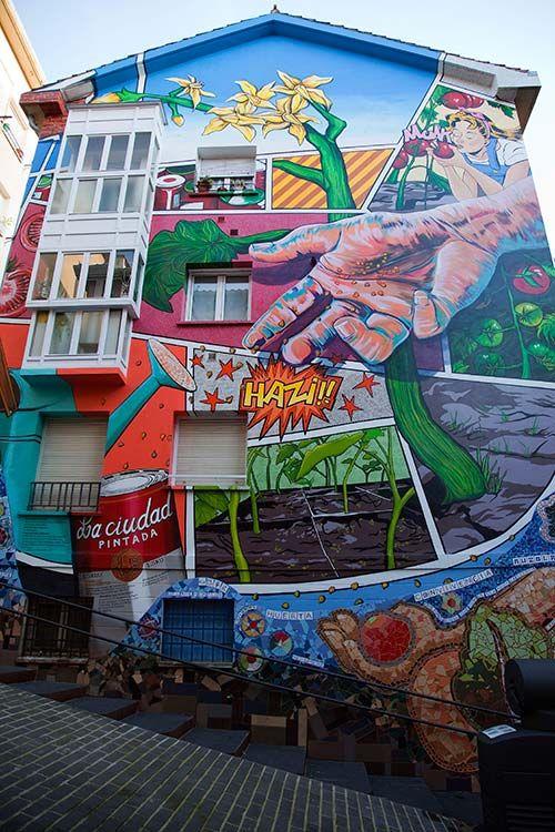 Vitoria_Mural_a | Viajessss | Pinterest | El medio ambiente, Ajedrez ...