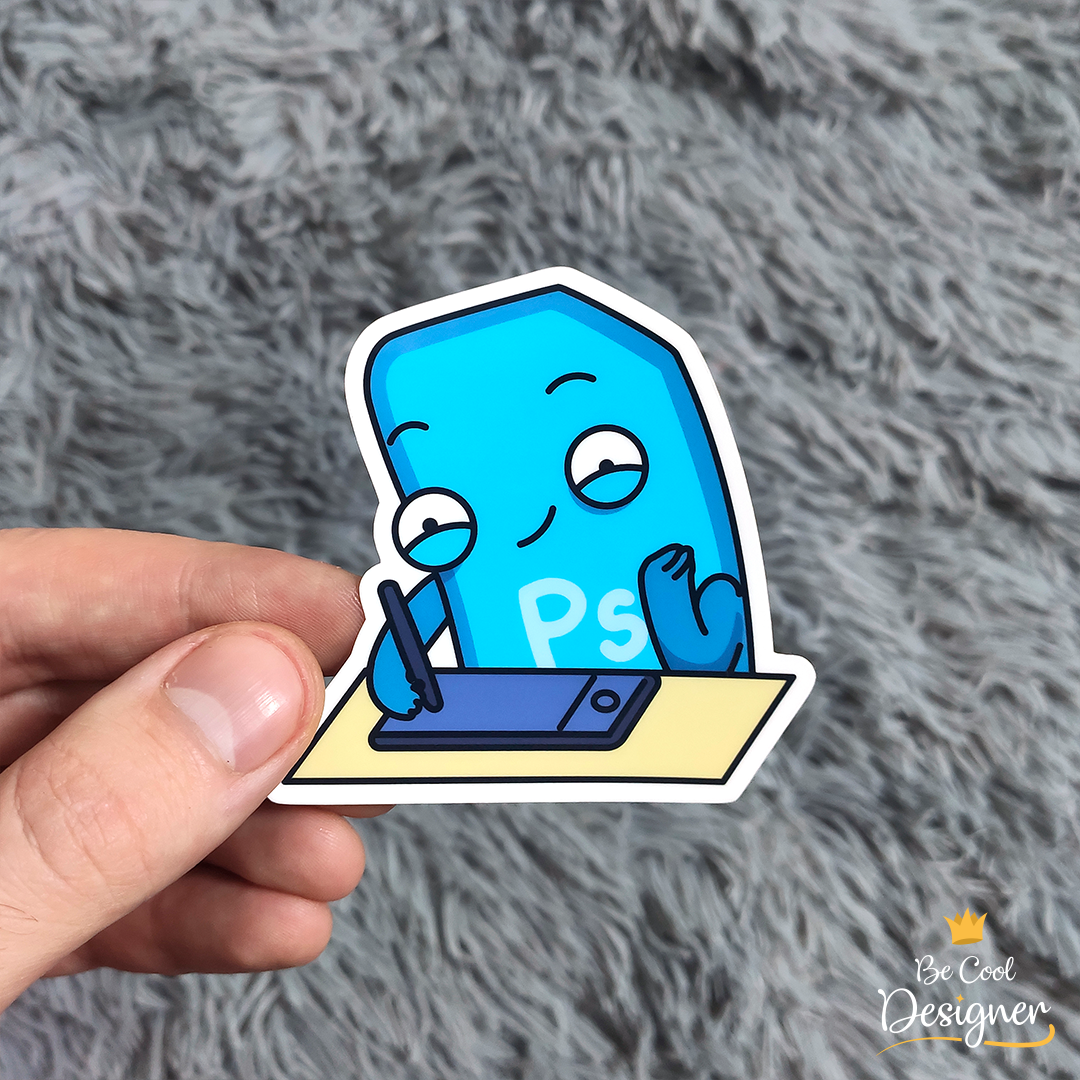, Adobe Photoshop Vinyl Stickers | Drawing tablet | Tab | iPad | Wacom | PSV-005 , Funny waterproof vinyl stickers for illustrators | Drawing tablet | Tab | iPad | Wacom #stickerfortablet #graphicstablet #wacom #xppen...