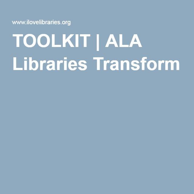 TOOLKIT | ALA Libraries Transform