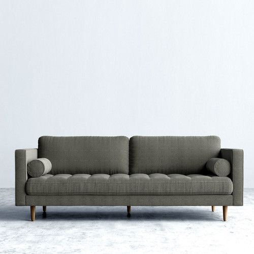 Admirable Found It At Allmodern Luca Sofa In Modern Tweed Whole Onthecornerstone Fun Painted Chair Ideas Images Onthecornerstoneorg