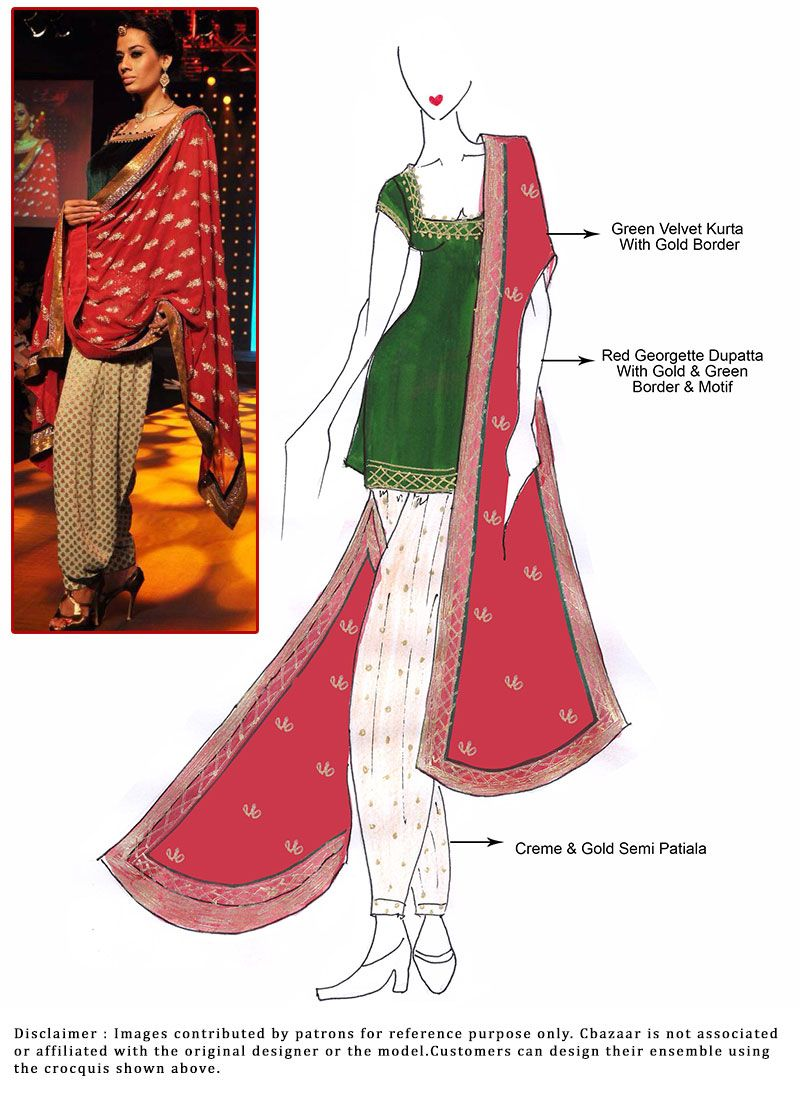 Dress punjabi designing sketches video