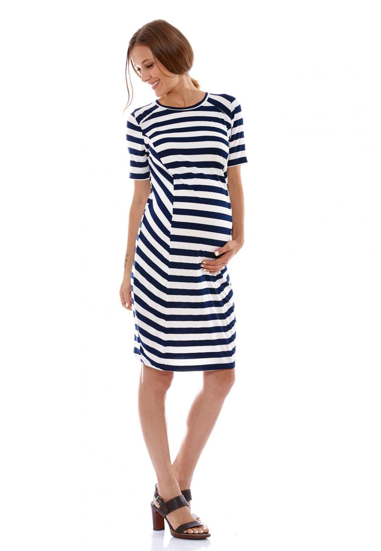 0fab3eb92ec Tessa Stripe Dress from Ella Bella Maternity Boutique
