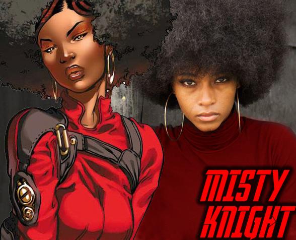 In Awe Of Black Women Misty Knight Black Comics Superhero
