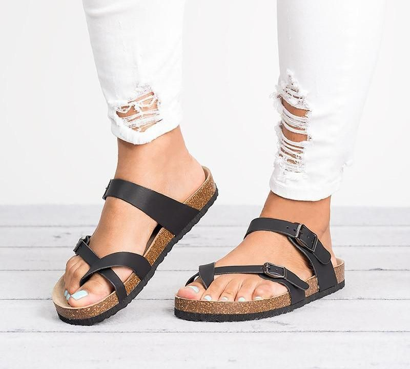 85171e33083 Gladiator Belted Fabric Sandals