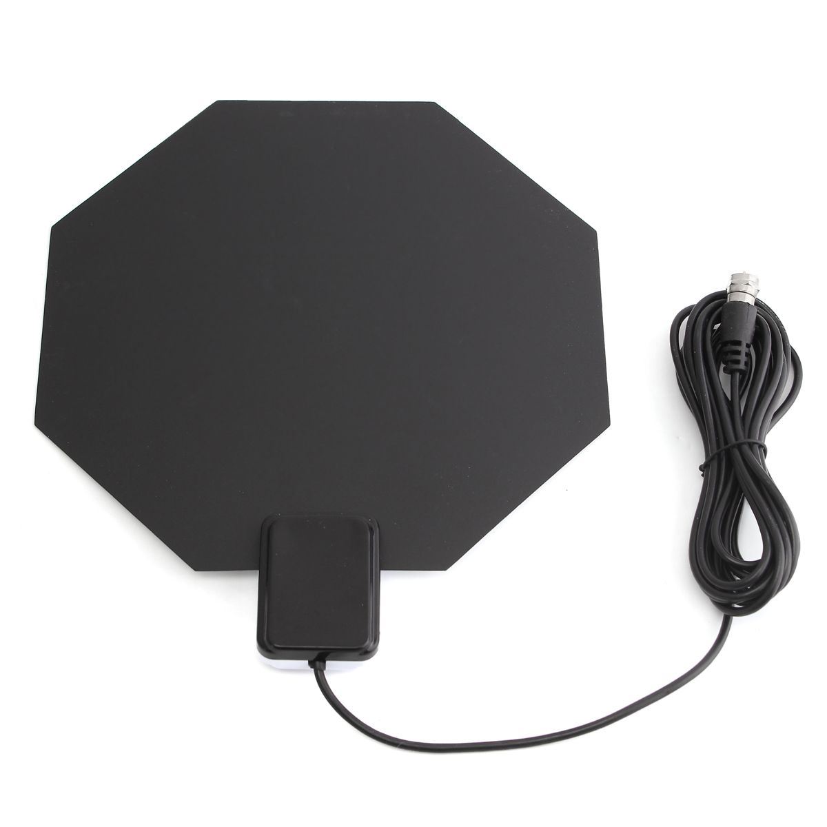 Long Range Amplified Flat Indoor HDTV Antenna VHF UHF