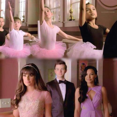 Rachel, Kurt n Santana