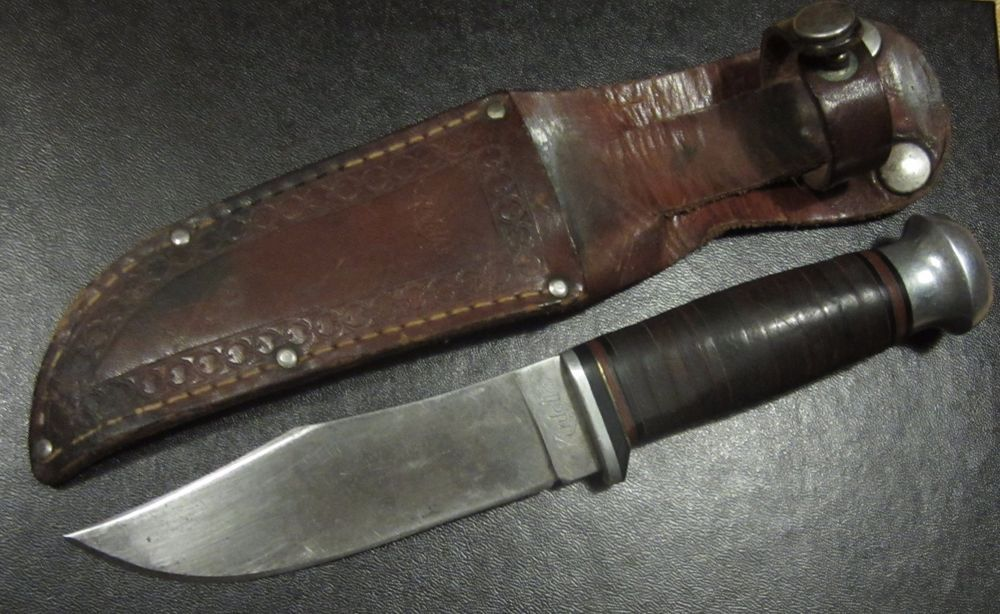 Antique Kinfolks Usa 962 Case Brothers Hunting Knife