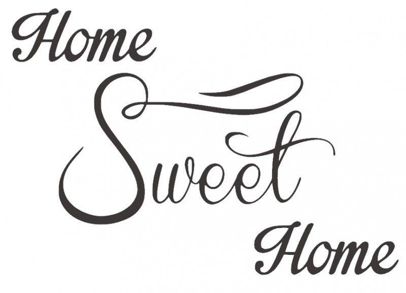 Muursticker Home Sweet Home.Muursticker Home Sweet Home Home Sweet Home Ekkor 2019