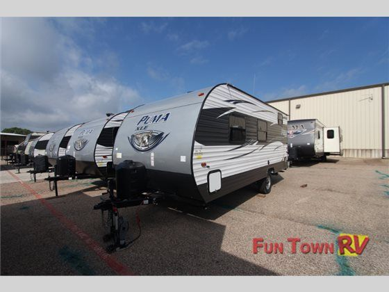 New 2017 Palomino Puma Xle 17qbc Travel Trailer At Fun Town Rv