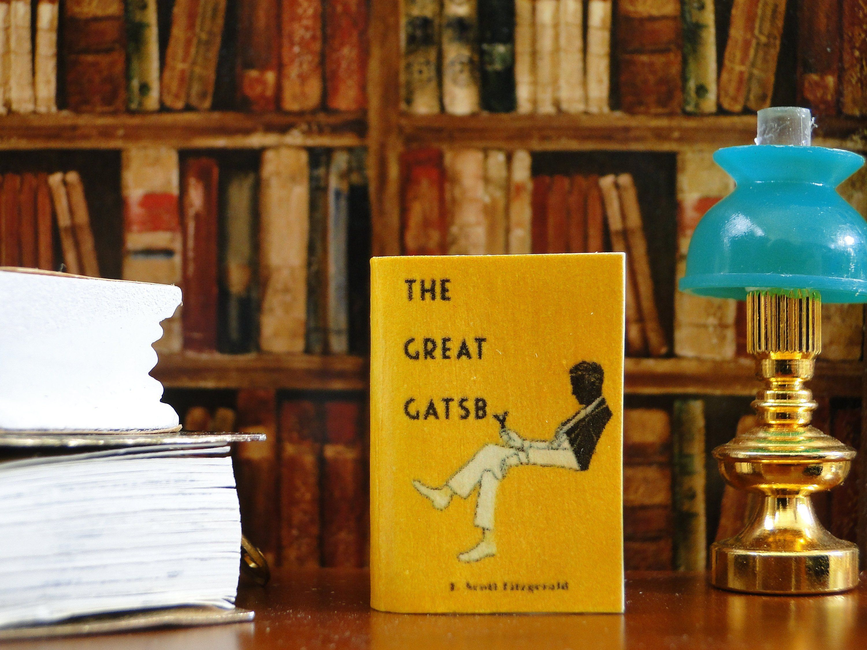 The Great Gatsby By F Scott Fitzgerald 1 12 Scale