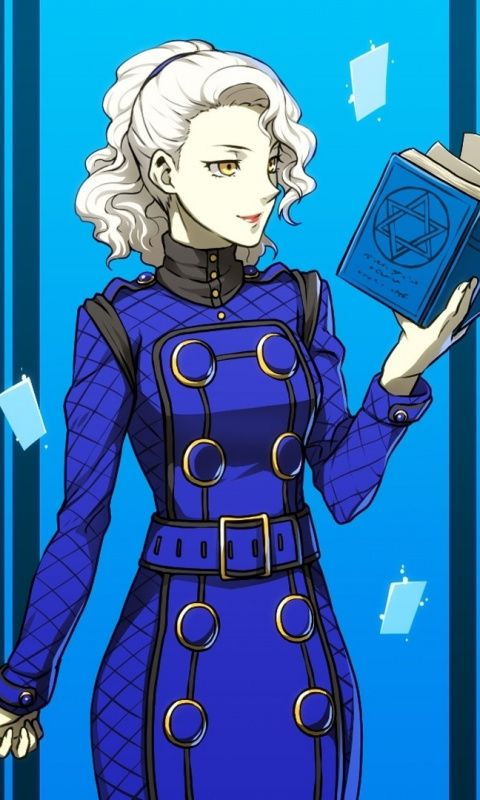 Video game, Margaret, Persona 5, 480x800 wallpaper Cool