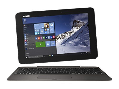 ASUS Transformer Book T100HA-C4-GR 10.1-Inch 2 in 1 #Touchscreen #Laptop (Cherry Trail Quad-Core Z8500 Processor, 4GB RAM, 64GB Storage, #Windows 10), Gray  Full review at: http://toptenmusthave.com/best-laptop-tablet-hybrid/