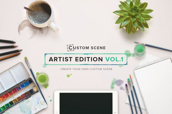 Custom Scene - Artist Ed. - Vol. 1 by Román Jusdado on Creative Market