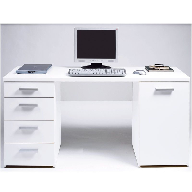 9 A Couper Le Souffle Bureau Blanc Conforama Bureau Blanc