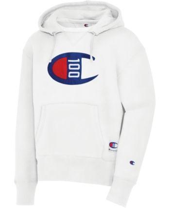 c5b181bf9 Champion Men Century Logo Hoodie in 2019 | Products | Hoodies, Mens ...