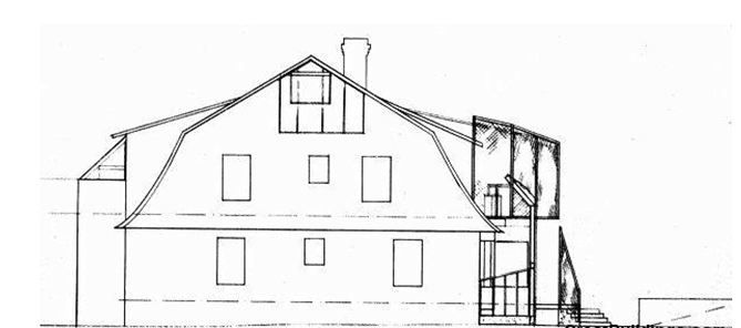 Gehry Residence / Frank Gehry drawing1 – ArchDaily