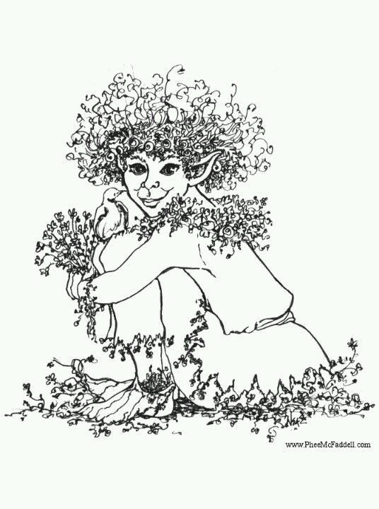 phee mcfaddelll artist cool free coloring page pfee