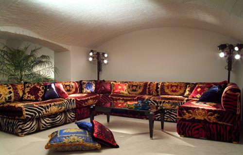Luxury Sectional Sofa Design By Versace Sofa Design Sofa Set House Interior