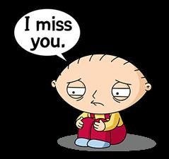 Family Guy Line Official Stickers Family Guy Stewie Family Guy Funny Family Guy Meme