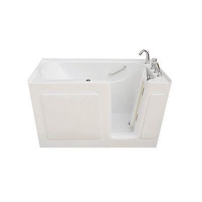 """Signature Bath 60"""" L x 30"""" W x 38"""" H Whirlpool Drain ..."""