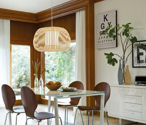Resultado de imagen para lamparas colgantes para mesa comedor ...