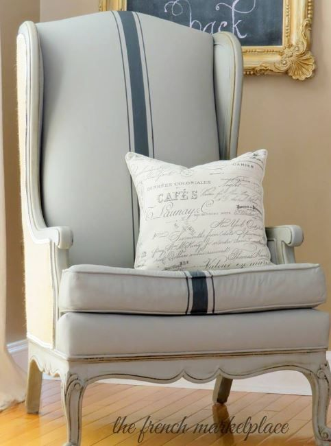Painted Fabric Chairs