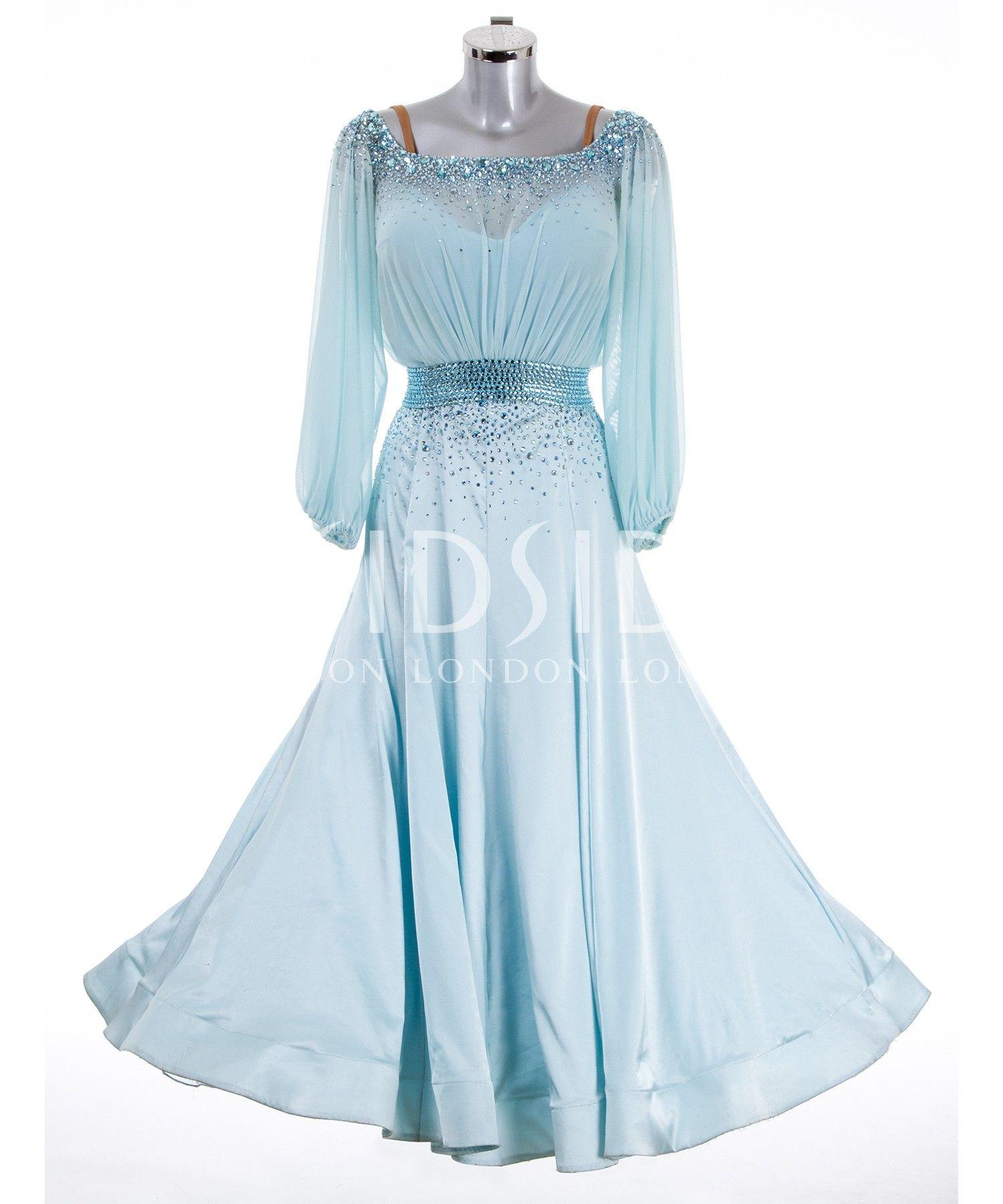 384877 Pale Turquoise Ballroom Dress | Ballroom dresses ...